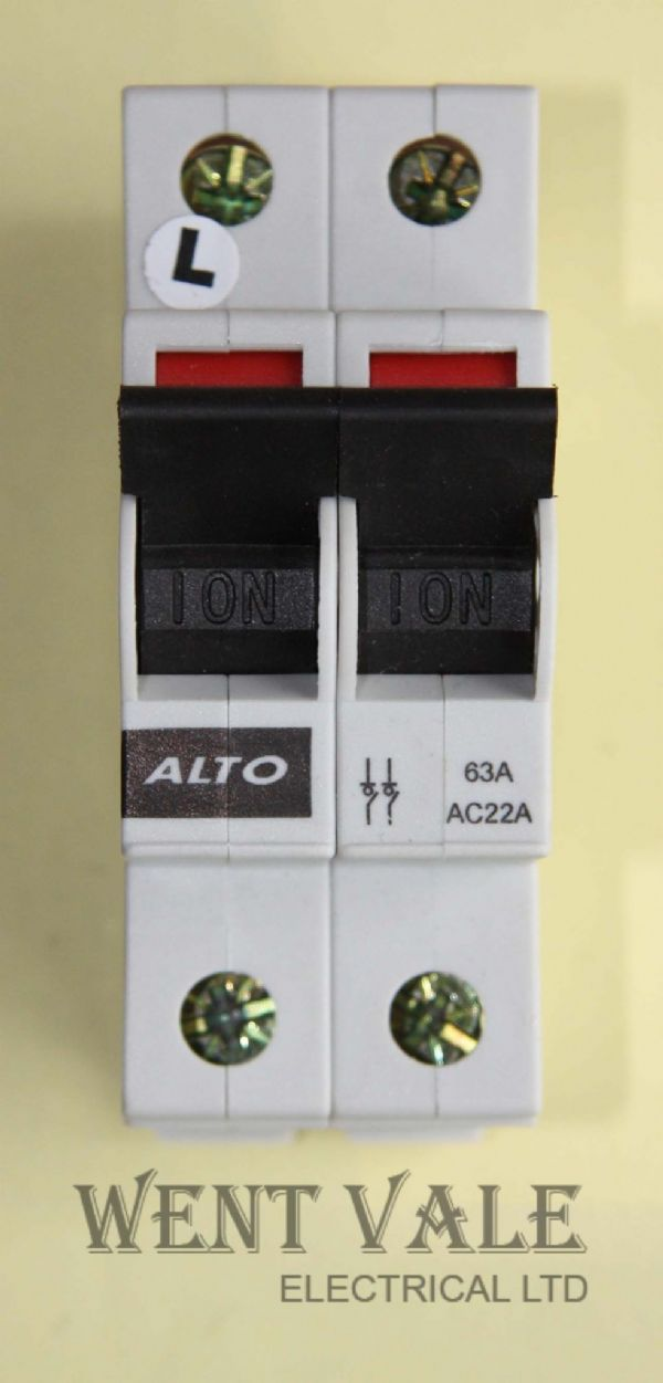 Alto AL2774 - 63a Double Pole Switch Disconnector Used